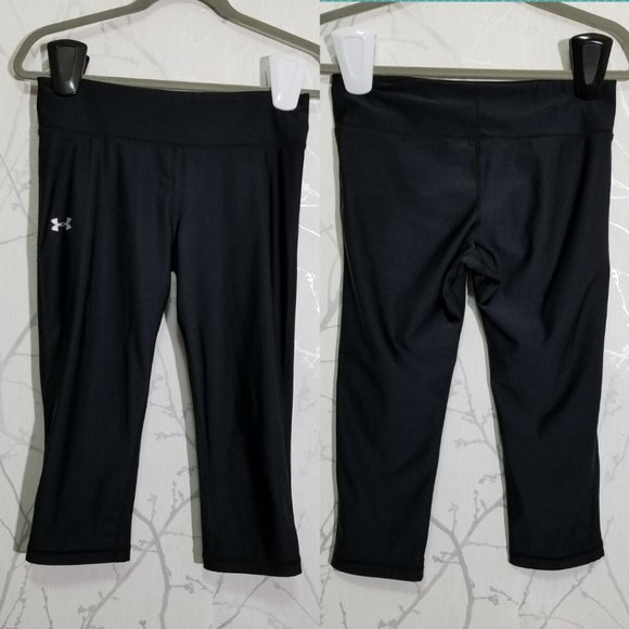 Under Armour Heatgear Mid Rise Cropped Leggings